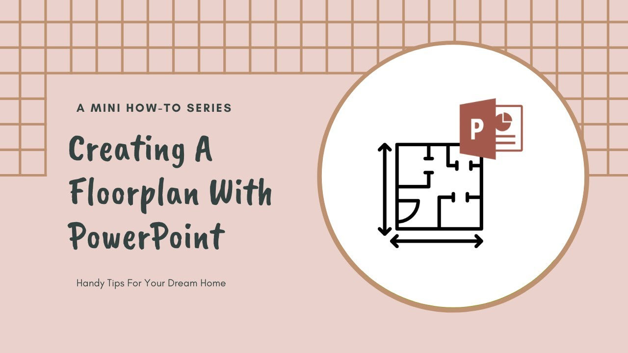 How To Create A Floorplan With Powerpoint Youtube