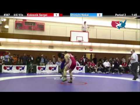 FS 84 KG - C4 - Sergei Kolesnik (ISR) vs. Shinichi Nakai (JPN)