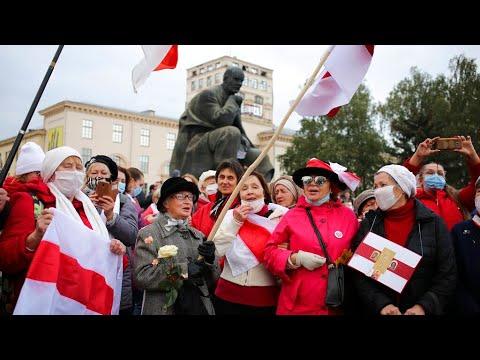 Belarus: Thousands Go On Strike Demanding The Resignation Of President Lukashenko