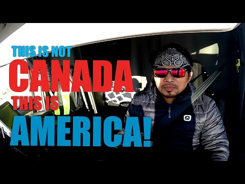 EP6. THIS IS NOT CANADA, THIS IS AMERICA | Pinoy Trucker🇨🇦