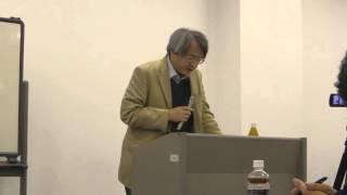2015年11月20日徳島市のトモニプラザで講師 細川 孝教授を招いて学習会...