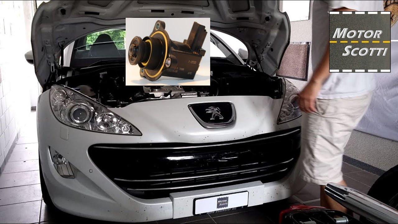 hight resolution of engine fault repair needed the recirculation valve