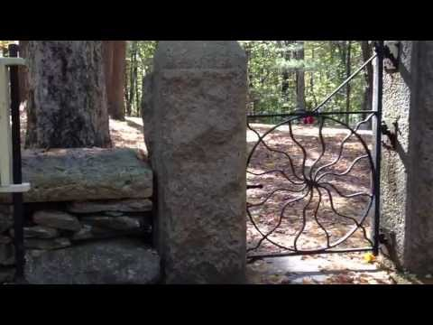 Spider Gates Cemetery in Leicester Massachusetts