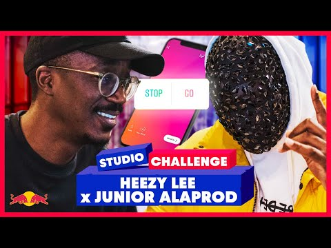 Youtube: Instagram dirige le son d'HEEZY LEE et JUNIOR ALAPROD – Red Bull Studio Challenge #16