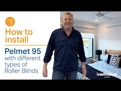 Pelmet 95 - How to install different types of roller blinds