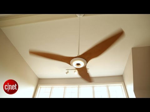 The fanciest thing in the CNET Smart Home? The fans.