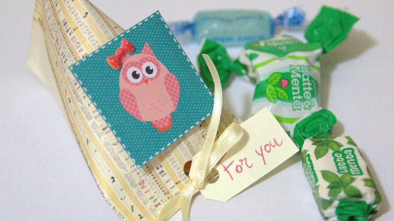 Crea una simpatica scatolina per le caramelle fai da te for Creazioni fai da te per la casa
