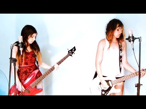 I Love Rock 'n' Roll by Joan Jett band cover (bass guitar, guitar, drums, vocals/vocal) HD