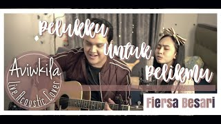 Download Lagu Fiersa Besari - Pelukku untuk Pelikmu | Live Acoustic Cover by Aviwkila mp3