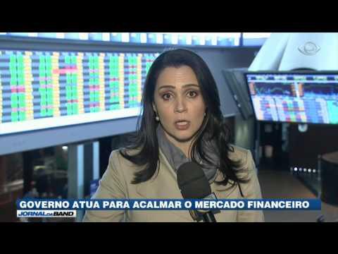Governo atua para acalmar o mercado financeiro