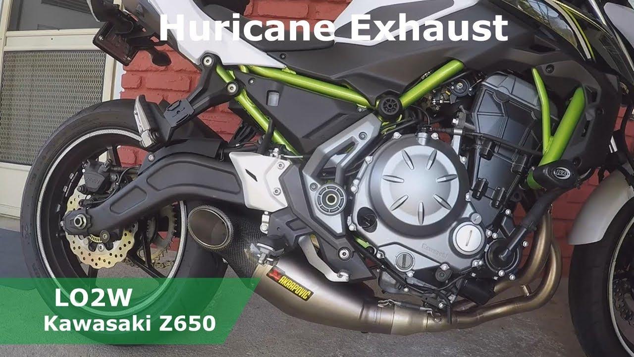 Top 6 Full Exhaust Sound Kawasaki Z650 Akrapovic IXIL Yoshimura Two Brothers