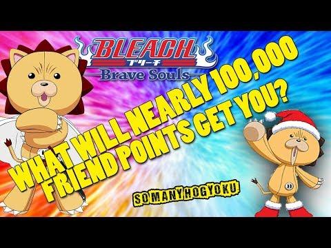 What Will Nearly 100,000 Friend Points Get You? Kon's Bonanza Test [Bleach Brave Souls]