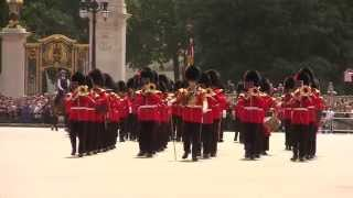 Band of the Coldstream Guards - Buckingham Palace 1 July 2013