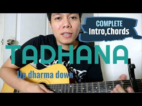 TADHANA Guitar Tutorial (INTRO,CHORDS,TABS) - Up Dharma Down