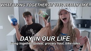 WHAT IT&#39S REALLY LIKE LIVING TOGETHER AT 18... (DAY IN OUR LIFE VLOG)