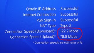 HOW TO GET 100% FASTER INTERNET CONNECTION ON PS4! MAKE YOUR PS4 RUN FASTER & DOWNLOAD QUICKER thumbnail
