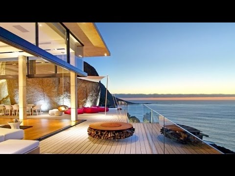 Modern Architectural Masterpiece Villa In South Africa With Boulders In Its Design