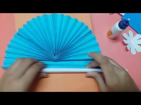 Easy paper fan (part-2)