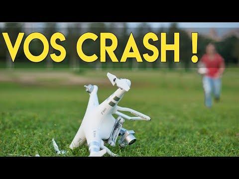 J'analyse vos Crash en Drone