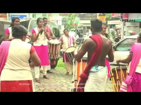 Kerala Girls dancing  With  Sinkari Melam
