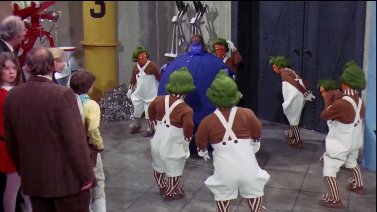 Violet Beauregarde Song 1971 Hd Youtube