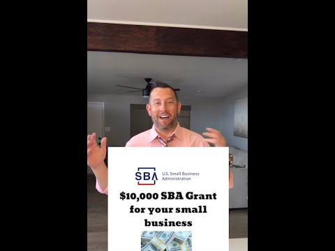 $10000 SBA Grant/Forgivable Loan CARES ACT Economic Relief For Small Business And Independent Cont