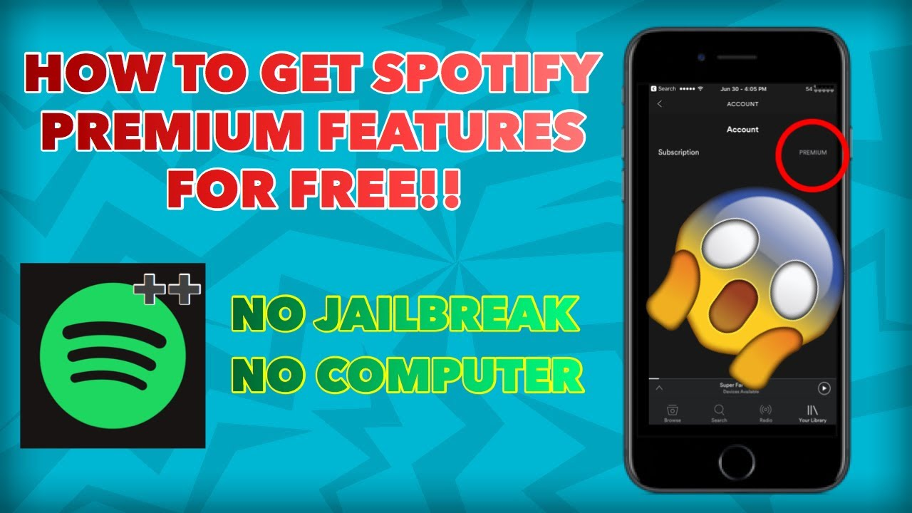 ⭐ Spotify crack for ios 11 | TutuApp Spotify++ For iOS 11/10