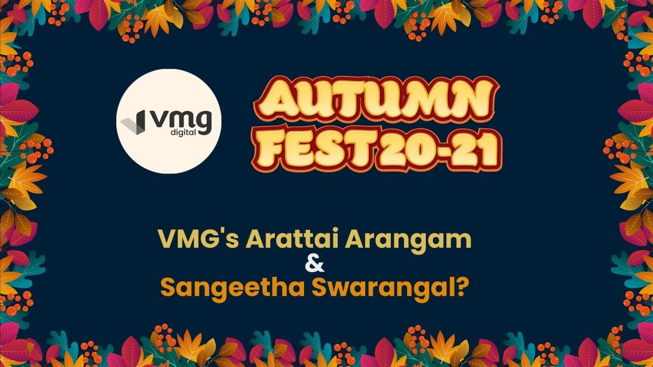 Download VMG's Autumn Fest 20-21 Pongal and Republic Day Celebration