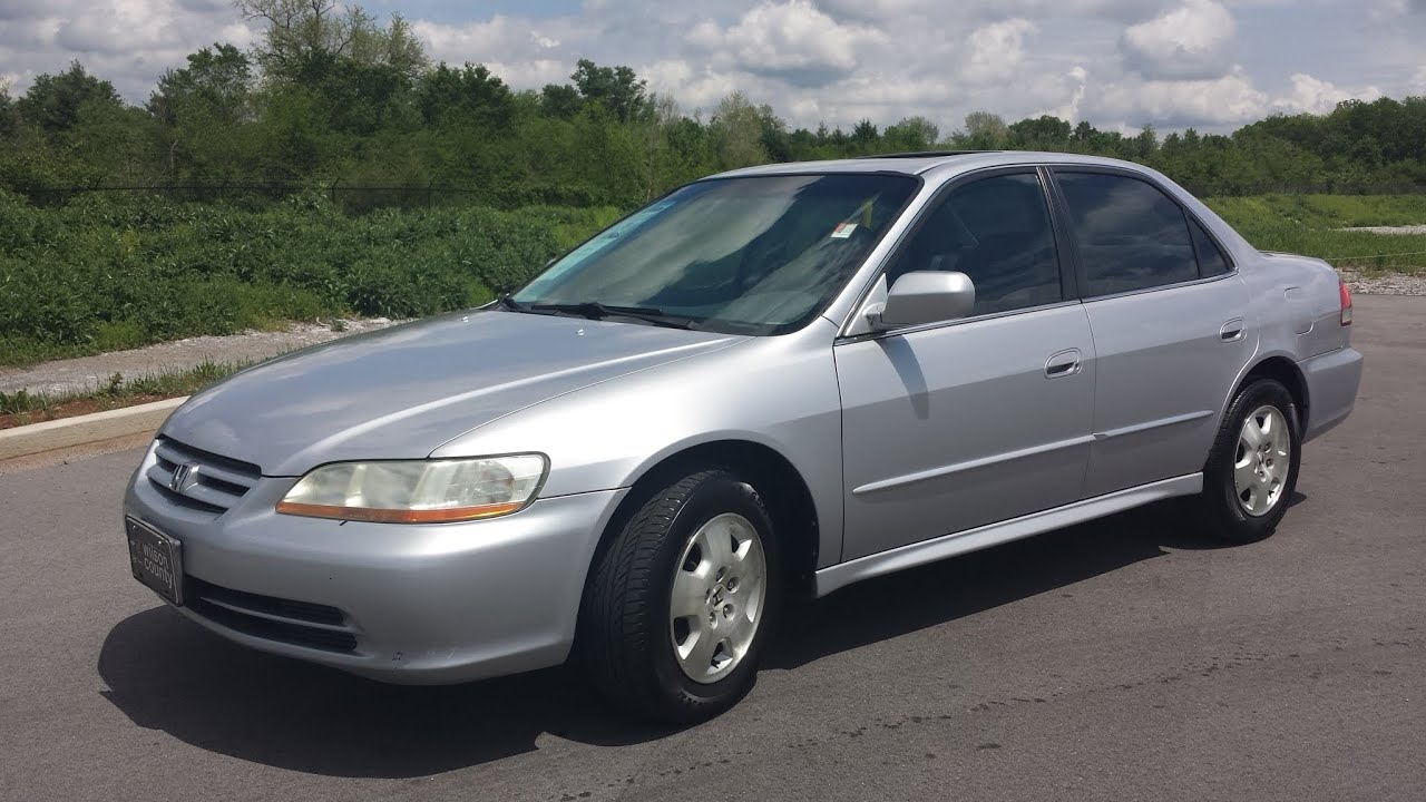 Attractive Sold.2001 HONDA ACCORD EX V6 AUTOMATIC LEATHER MOONROOF 213K CALL GRIZ  855.507.8520   YouTube