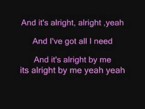 Alright Lyrics by Darius Rucker