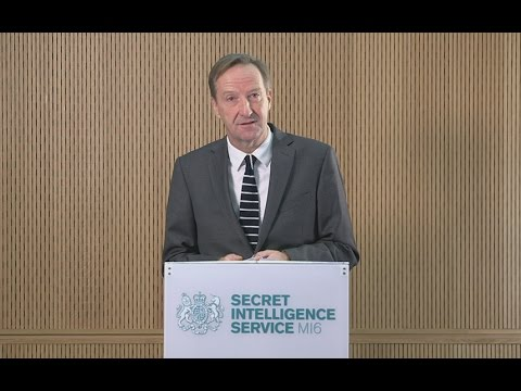 Head of MI6: Britain faces 'fundamental threat to sovereignty from Russian meddling'