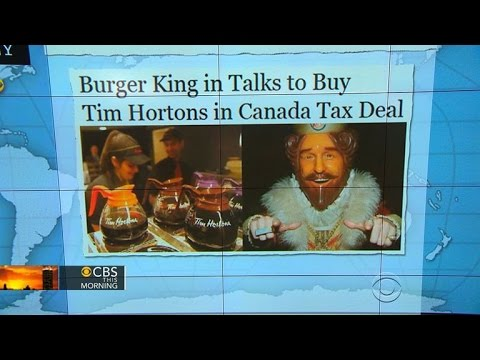 Headlines at 7:30: Burger King may buy Tim Hortons