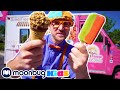 BLIPPI Explores an Ice Cream Truck | Nursery Rhymes & Kids Songs | Little Baby Bum Play and Learn