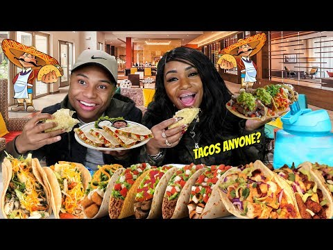 Authentic Mexican food Mukbang with It'sDarius