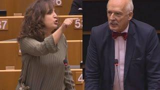 Sexismus im EU-Parlament: Polnischer Abgeordneter provoziert mit frauenfeindlicher Rethorik