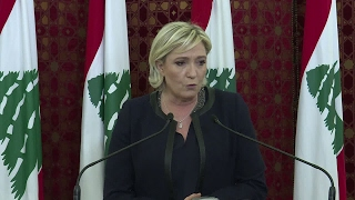 Marine Le Pen in Lebanon   Assad is a more reassuring solution than the Islamic state group