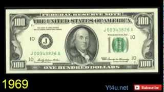 History Of 100 US Dollar Bill And its Evolution And New 100$ US Dollar Bill