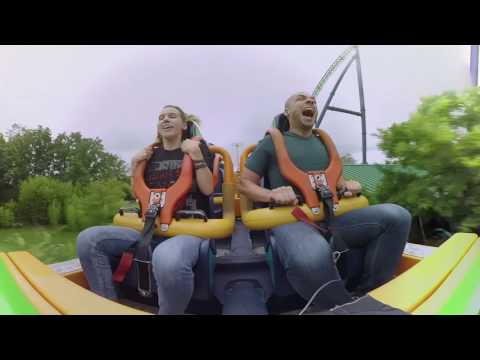Ride the world's tallest roller coaster in 360 degrees