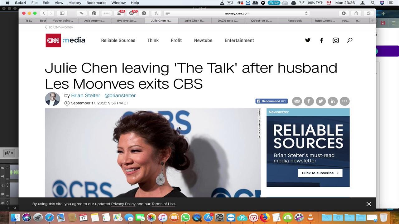 Hey Julie, Mrs. Cosby is sending her regards.
