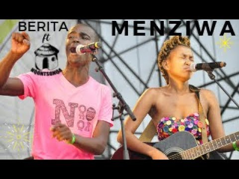 Berita ft Nqontsonqa performing uMenziwa live