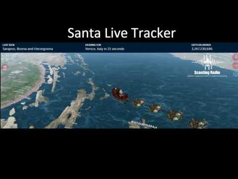 Scouting Radio Live Santa Tracker