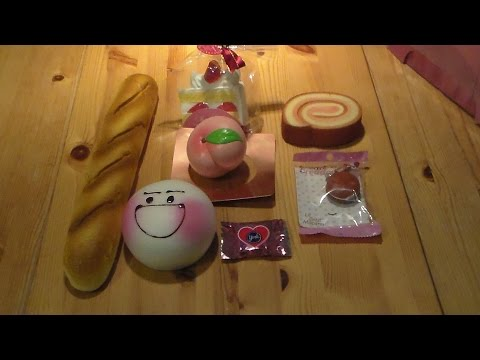 Silly Squishies Squishy Collection : Squishy package #5 Silly Squishies FunnyCat.TV