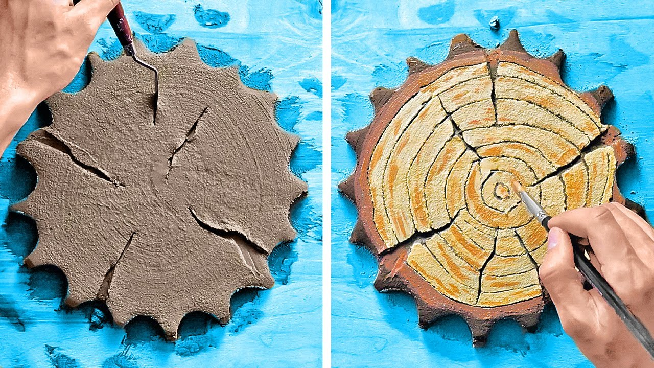 Amazing DIY Cement And Gypsum Crafts And Home Decor Tutorials