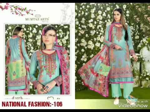 New Karachi suits design collection_national-fashion_2018