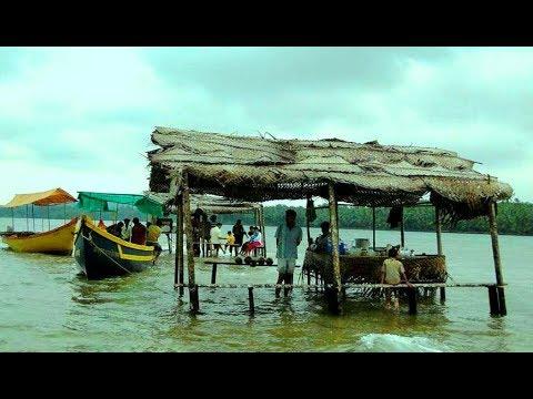 Tsunami Island (Tarkarli River, Devbagh - Malvan Konkan) Maharashtra India