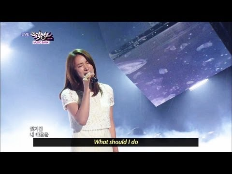 [Music Bank w/ Eng Lyrics] Jang Hee Young - You Can't Do That (2013.03.16)