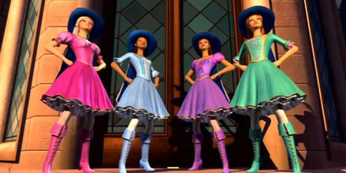 Barbie y las tres mosqueteras latino dating