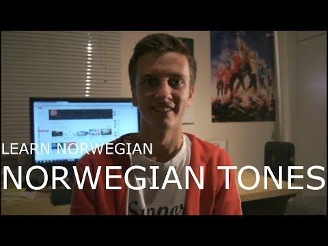 Learn Norwegian: Norwegian Tones/Pitch Accents - Subtitles