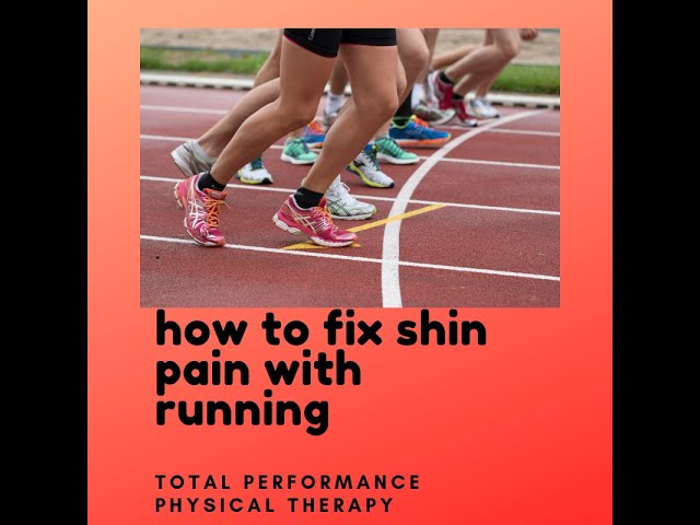 How to fix shin pain with running