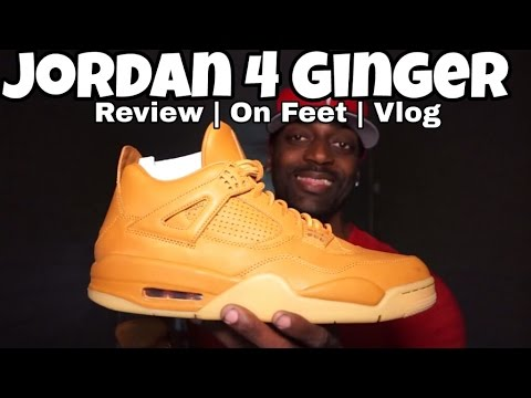 42e13136be61 JORDAN 4 GINGER FUNNY REVIEW